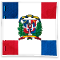 Dominican Republic Flag