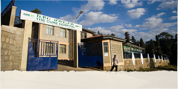 Image CURE's hospital facility in Addis Ababa, Ethiopia