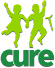 CURE logo (stacked version)