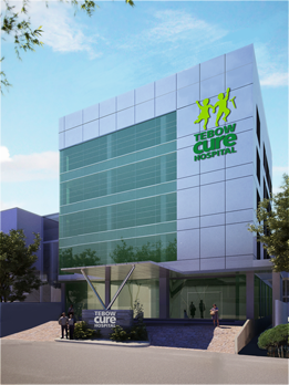 Artist's rendering of the new Tebow CURE Hospital in the Philipines
